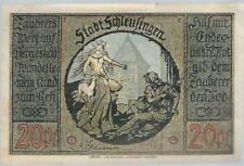 Notgeld - Stadt Schleusingen - 20 Pfennig - 1921