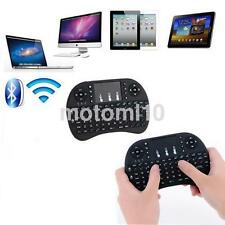 Black 2.4G Portable 92 Wireless Keyboard Keys with Touchpad Mouse Keypad Combo K