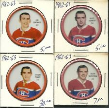 1962-63 Shirriff coin #25 Jacques Plante