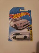 🔴 Hot Wheels Super Treasure Hunt White '90 Honda Civic EF Real Riders VHTF 🔥
