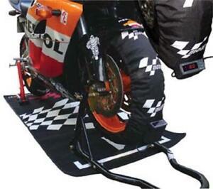 MotoGP Pro Digital Tyre Warmers Set 120 & 180 190 Rear Motorcycle Race & Track