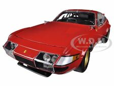 1977 FERRARI 365 GTB/4 DAYTONA RED HIGH END VERSION 1/18 MODEL CAR KYOSHO 08165