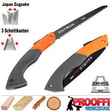 Profi Handsäge Ast Baumsäge Outdoor Klapp Holz Säge Japan Zugzahn TEFLON C1913