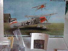 HEINKEL HE 51 1/48 SCALE CLASSIC AIRFRAMES +PHOTOETCHED+RESIN+VACUFORM+METAL PAR
