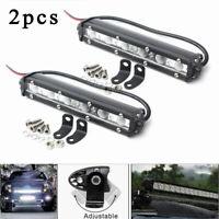 2X 18W 12V 6LED Work Light Bulb Spot Beam Bar Car SUV Off Road Driving Fog Lamp
