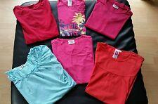 6 T-Shirt von H&M C&A YIGGA kikstar CFL Gr. 158/164   Mädchen