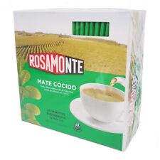 Y98 YERBA MATE ROSAMONTE COCIDO/TEA BAGS x 50 EASY USE!