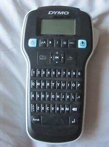 Dymo Label Manager 160 Handheld Label Maker Qwerty Keyboard UK Excellent