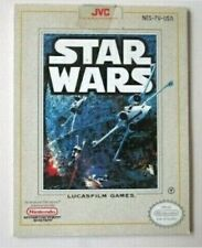 JVC Star Wars Game Instruction Booklet #NES-7V-USA ONLY -AB-22