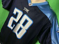 J462/240 NFL Tennessee Titans Chris Johnson #28 Reebok Jersey Youth XL 18-20