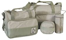 Baby Windeltasche Wickeltasche Reisetasche Set 5 tlg Pflegetasche BabytascheBaby