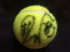 TENNIS: KURUMI NARA SIGNED TENNIS BALL+COA