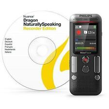 Philips DVT2710 8Gb Voice Tracer Digital Sound Recorder w/2 Mic Stereo Recording
