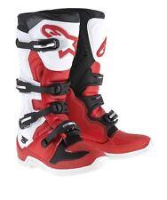 Botas Cross Alpinestars Tech 5 Mx Boots Rojo Blanco Negro Rojo 44.5 EU / 10 US