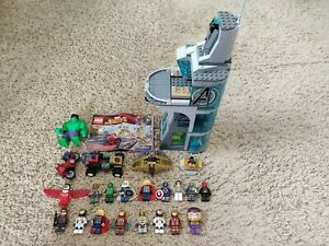 LEGO Marvel Attack on Avengers Tower and Captain America's Avenging Cycle + More