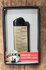 Imco Pipe Lighter - Gold Logo - Incl. Silverware - Nip - 1800007