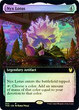 1X NM Foil Nyx Lotus Extended Art THB Magic the Gathering