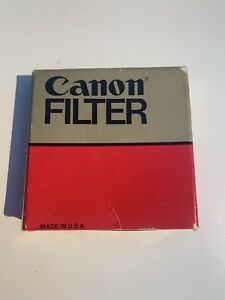 48MM CANON HOOD W/ CANON SKY 1A FILTER GUC with original box