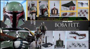 Hot Toys Boba Fett MMS464 DELUXE Star Wars ESB 1/6 Scale