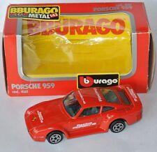 BBURAGO 4161 - PORSCHE 959 rot - ca.1:43 - mit OVP