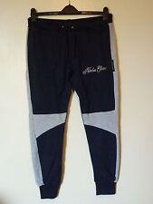 Northern Garms Signature Jogger Pantalon De Jogging Taille M Rrp £ 34.50 BNWT Bleu Marine/Gris