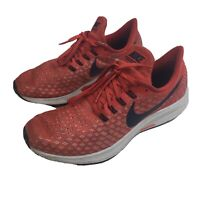 Mens 10 Nike Air Zoom Pegasus 35 Running Shoes Habanero Red Low Top Training