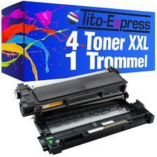 Drum & 4 Toner XXL ProSerie für Brother TN2320 DR2300 MFC-L2700 DN MFC-L2700 DW
