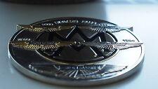 Aston Martin DRIVERS CLUB Grill Badge Emblème Db1 Db2 DB4 DB5 DB6 DBS DBS DB7