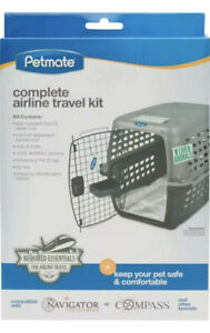 Petmate Airline Travel Kit Required Essentials For Airline Travel for Pets