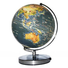 25CM BLUE OCEAN GLOBE OF THE WORLD TABLE LAMP LIGHT - WILL SHIP AUSTRALIA WIDE