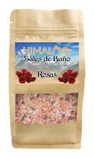 SALES DE BAÑO ROSAS NATURAL HIMALAYA SALES FRAGANCIAS BAÑO DUCHA CUERPO 500 GRS