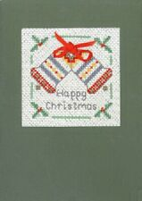 ALBERO Natale Cartolina di Natale Kit-COMPLETO CROSS STITCH Natale Card Kit su 18 AIDA