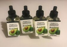 4 Bath & Body Works Avocado Coconut Wallflowers Home Fragrance Refill Bulbs