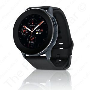 Unlocked Samsung Galaxy Watch Active 2 SM-R825U 44mm Stainless Steel Black
