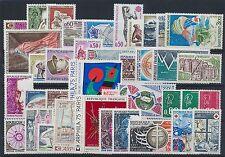 Frankreich Jahrgang 1974 postfrisch / in den Hauptnr. komplett (3646) ..........
