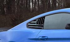2015-2019 Mustang [15FM_QWF] Quarter Window Flag Decals