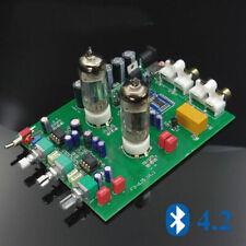 6J5 Vacuum Tube Amplifier Bluetooth 4.2 Audio Stereo Tone Control Board HiFi