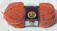 """Lion Brand """"Textures Yarn"""" in Sun Rays - NEW Smoke Free Home Worsted (4) Wt"""