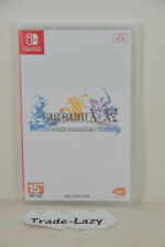 Switch Final Fantasy X/ X2 FF X + X-2 (HK 2 in 1 PHYSICAL ENGLISH/ Chinese/ JAP)