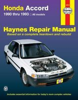 Repair Manual-SE Haynes 42012 fits 90-91 Honda Accord