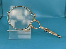 French silver magnifying viewing glass french empire style circa 1900