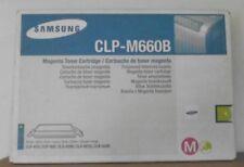 ORIGINALE Samsung clp-m660b MAGENTA PER CLP 610 660 CLX 6200 6210 6240 CARTONE C