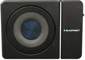 "New Blaupunkt GTHS81 - 8"" 320W Compact Under-Seat Amplified Subwoofer Enclosure"