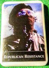 IRISH REPUBLICAN RESISTANCE IRELAND EIRE TIN BADGE LONG KESH SINN FEIN VOLUNTEER