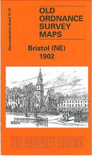 OLD ORDNANCE SURVEY MAP BRISTOL NE 1902