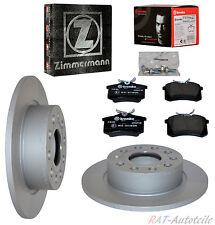 Zimmermann Bremsscheiben+Beläge HA VW SCIROCCO (137, 138) 1.4 TSI 118KW 160 PS