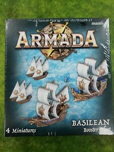 Armada: PRESALE Basilean Booster Fleet expansion mantic New