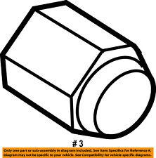 CHRYSLER OEM Wheel-Lug Nut 6036747AA