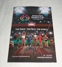 2018 World Cup Athletics Championships London 14th - 15th July Programme - New