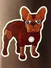 """Iron Man"" French Bulldog Fridge Magnet"